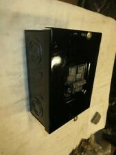 Ite Indoor Load Center Panel Box With 2 Pole 20 Amp Breaker