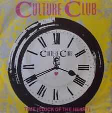 """CULTURE CLUB - Time ~  7"""" Single PS"""