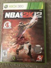 NBA 2k12 Xbox 360 - Used