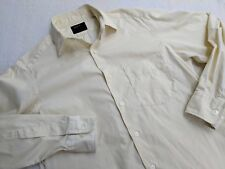 Yohji Yamamoto Y's AAR durban pale yellow shirt small