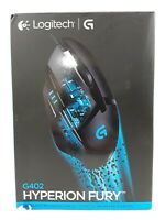 Logitech G402 Hyperion Fury FPS Gaming Mouse with High Speed Fusion Engine...NEW