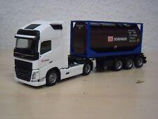 """Herpa - Volvo FH`13 GL XL 20ft Harz-Tankcontainer-SZ """"Schenker"""" - Umbau - 1:87"""