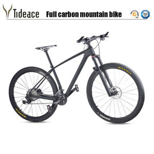 29er Full Carbon Mountain Complete Bike XT Groupset T800 Carbon MTB Bicycle
