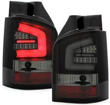 LED Rückleuchten VW T5 Transporter 03+ / Multivan 03-09 Schwarz für Heckklappe