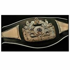 2020 Brand New IBC International Boxing council Championship adult belt metal