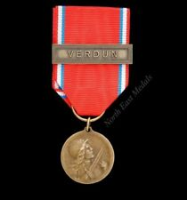 French Issued Medals & Ribbons WWI Militaria Medals & Ribbons