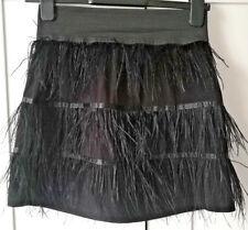 funky burlesque Black feather mini skirt - Vero Moda Size S