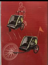 allen sports deluxe 2-child bike trailer And Stroller.