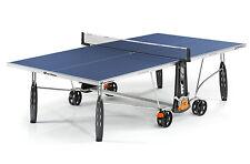 Cornilleau Tischtennisplatte Sport 250 S Crossover Outdoor blau mit Netz