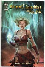 SALEM'S DAUGHTER The Haunting #1 Zenescope Artgerm Cover 2011