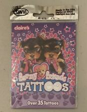Furry Friends Temporary Tattoos (Claire's) NEW