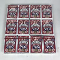 12 Decks of Jumbo Size Triumph Playing Cards MADE IN USA Poker Game Red NEW