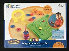 Learning Resources Stem Magnets Activity Set Ages 5+ New Toy