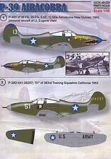 Print Scale Decals 1/48 BELL P-39 AIRACOBRA Fighter