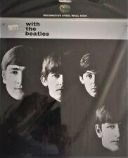 BEATLES RETRO  ALBUM COVER METAL SIGN 30 X 30 CM