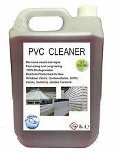 Upvc nettoyeur nettoie et ravive upvc portes, fenêtres et en plastique blanc furn 5 litres