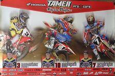 Motorcycle Poster 2003 Honda Troy Lee Designs Team Motocross Supercross Antunez
