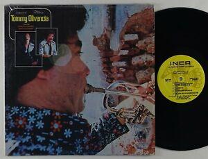 "Tommy Olivencia ""Lo Mejor De"" Latin Salsa LP Inca"