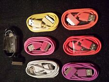 USB Data Sync charger cable Apple  iPhone 3g 3gs 4g 4gs touch ipod Color 4th Gen