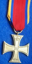 Mecklenburg Schwerin Military Cross Dated 1870 For Non Combatant