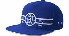 Kangol Globe Mesh Baseball Cap Blue White New Z4