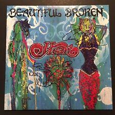 Heart Ann Nancy Wilson Signed Autograph Record Album JSA COA Beautiful Broken