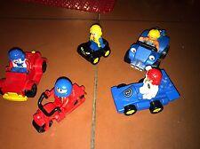 Lego Duplo 5 Figuren 4 Auto Autos 1 Motorrad Fahrzeug Fahrzeuge Neuwertig