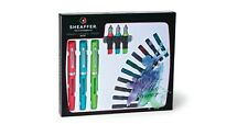 Sheaffer Pen Maxi Calligraphy Set No 83404 Includes 3 pens 3 nibs 10 Cartridges