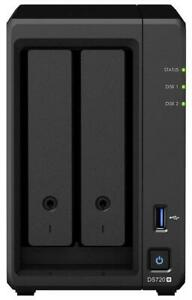 Synology DiskStation DS720+ 2 Bays NAS - Diskless (Replace DS718+)