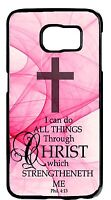 For Samsung Galaxy Note 5/4/3 Cross Bible verse Christian Saying Back Cover Case