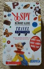 I Spy Memory Game Travel Edition In Tin Scholastic Briarpatch NEW & On SALE!