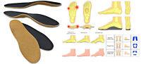 dünne orthopädische Schuheinlagen Senkfuß Plattfuß Hohlfuß Thin Einlegesohlen