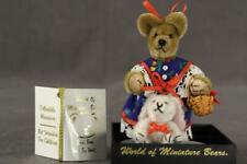 World of Miniature Bears Mohair Teddy Bear KATHY 307 Becky Wheeler White Rabbit