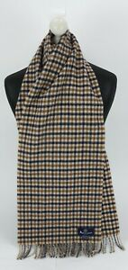 AQUACUTUM SCARF 100% LAMBSWOOL FOR MEN AND WOMEN MADE IN ENGLAND