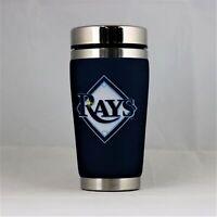 Tampa Bay Rays MLB 16oz Travel Tumbler Coffee Mug Cup