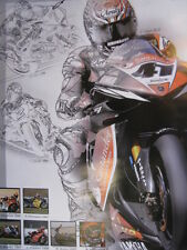 Poster Yamaha YZF-R1 #41 Noriyuki Haga (JAP) WSB / SBK