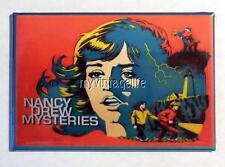 "Vintage NANCY DREW MYSTERIES Lunchbox 2"" x 3"" Fridge MAGNET"