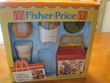 1988 Fisher Price McDonalds Happy Meal Set Boxed