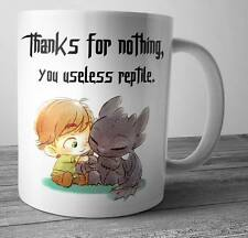 How To Train Your Dragon Coffee Mug Tea Cup Birthday Gift For Toothless  Fan