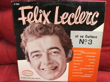 Folk LP: FELIX LECLERC No.3 EPIC RECORDS Canada