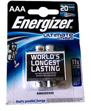 2x Ultimate Lithium AA Blister 1,5V Ultimate Lithium AA Energizer