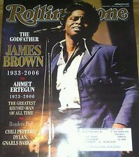Magazine James Brown, FREE SHIPPING, 2 for 1, Large Rolling Stone Jan 25,2007
