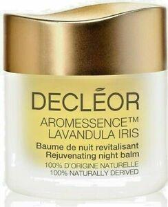 BNIB DECLÉOR Aromessence Lavandula Iris Rejuvenating Night Balm15ml Anti Ageing