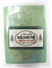 Paine's Balsam Fir Vegetable Soap made in Maine natural skin care exfoliates