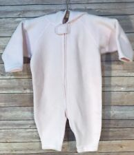 Hanna Andersson Fleece Baby Bunting Snow Pale Pink Size 80