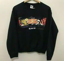 Gildan Blink-182 California Men's Black Pullover Heavy Blend Crew Sweatshirt S