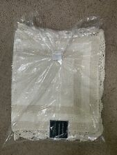 Bath Rug 24 in. x 40 in. Woven Weave Machine-Made Cotton Linen