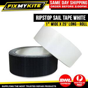 Kitesurf Spinnaker Paraglide Ripstop Sail White Repair Tape - 2.5CM x 25FT Roll
