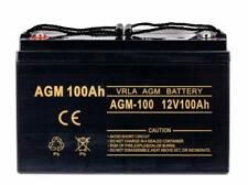 VOLT AGM gel battery 12V 100Ah Maintenance-free