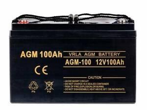 VOLT AGM Gel-Batterie 12V 100Ah AGM 140Ah Solarbatterie Versorgungsbatterie